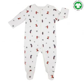 Babygrow with zipper – Travel – Front-min